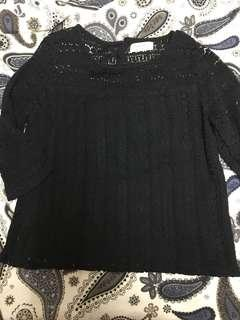 Basic lace top