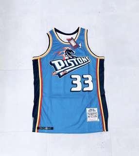 Grant Hill Detroit Pistons NBA Basketball Jersey