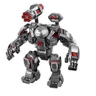 Lego Marvel War Machine Buster from 76124 Avengers Infinity War