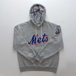 Hoodie Pria Mets Grey