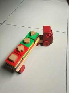 Wooden Toys Truck