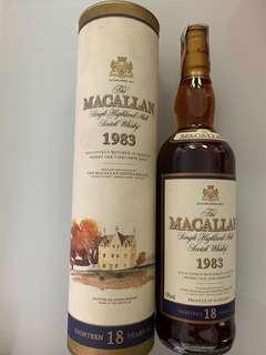 Macallan 18 1983 edition