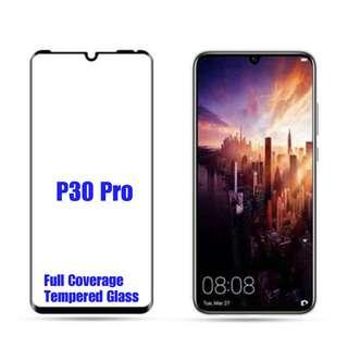 Huawei P30 Pro Full Coverage Tempered Glass