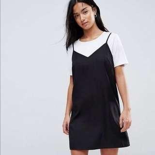 H&M Black Cami Slip dress