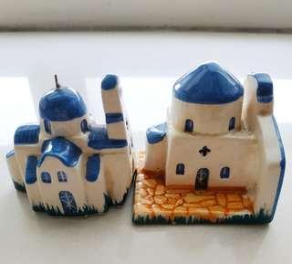 旅遊 城堡 小屋  教堂 風景 紀念品 擺設