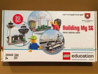 全新樂高積木 LEGO Education 2000446 Building My SG Singapore SG50 星加坡新加坡50週年特別版