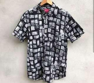 Supreme SS14 Block Print Shirt