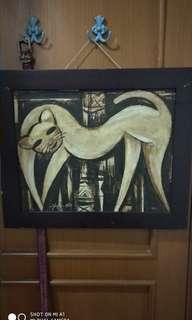 Lukisan kucing