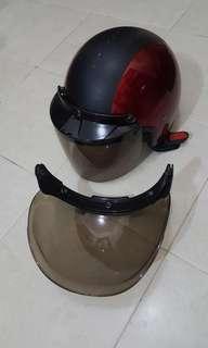 SGV Cruiser helmet + visor FOC