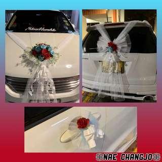 🚚 Wedding Car Deco