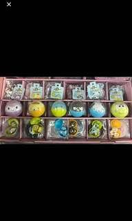 Sanrio 扭蛋版公仔/  kuromi/ Tuxedosam  企鵝Sam / keroppi 大眼青蛙/ Pom Pom Purin 布甸狗 /XO / Pochacoo