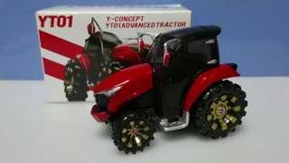Yanmar YT01 Y-Concept YT01 Advanced Tractor 日本店鋪限定 合金農夫車 Tomica 代工