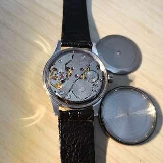 85%new.絕版中古上海牌手動上鏈機械錶