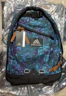 Gregory day pack 藍花 全新