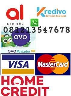 Jasa Pencairan Limit Akulaku, Kredivo, Ovo Paylater, Home Credit, Dan Kartu Kredit