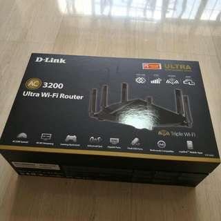 Dlink AC3200 Router