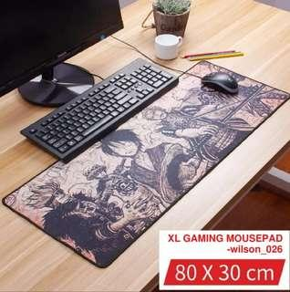 800*300*3mm XL Gaming Mousepad - One Piece