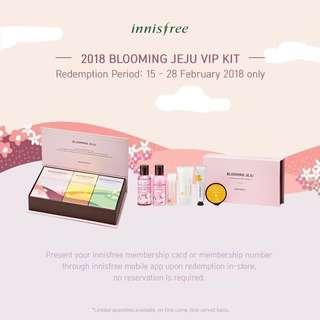 Innisfree Blooming Jeju VIP Kit 2018
