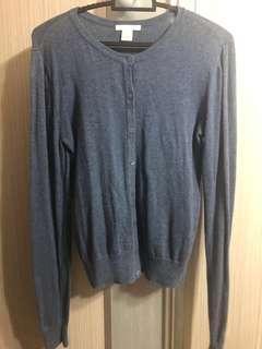 🚚 H&M Blue Cardigan (XS)
