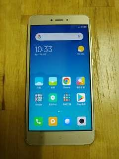 80% New Redmi Note 4X (港行)