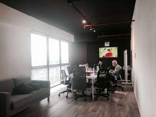 Peaceful and unblocked view of 650sqft (60sqm) fitted loft unit office space for rent