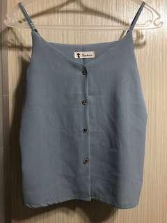 Brand New Blue Cami Top (XS/S)