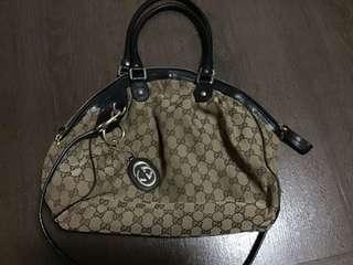 Used Gucci Sukey Boston Bag