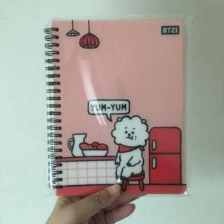 🚚 BT21 Studio Eight Notebook