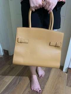 CHARLES & KEITH chocolate office bag