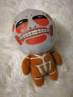 Attack on titans plush toy
