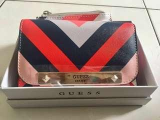 Guess Britta Double Date Wallet and Card Holder