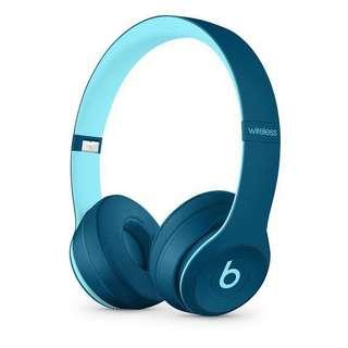Beats Solo3 Wireless Beats Pop Collection - Pop Blue