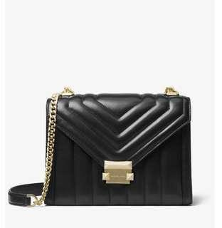 🚚 Michael Khors Whitney large quilted leather bag