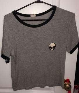 Brandy Melville (one size fits all) alien shirt