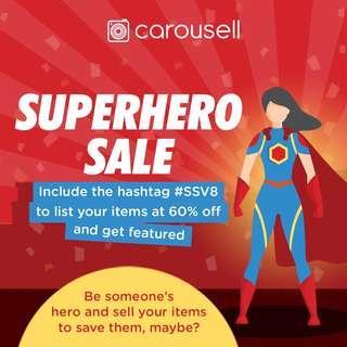 Superhero Sale