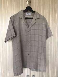 🚚 格紋 新春 短袖 套裝