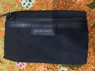 Longchamp wallet navy blue original
