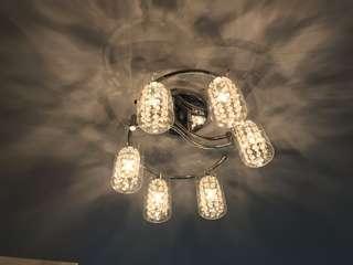 水晶吊燈 crystal lamp