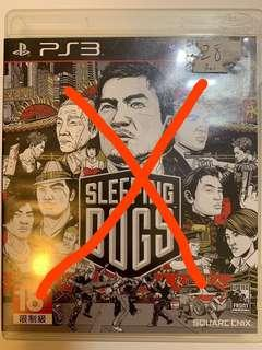 PS3,遊戲,Games,Sleeping dog, Tomb Raider, GTA V, Battlefield 4, Everybody's Golf 5, Street Fighter 4, Pro Bass Fishing