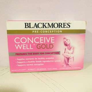 🚚 Blackmores Conceive Well Gold