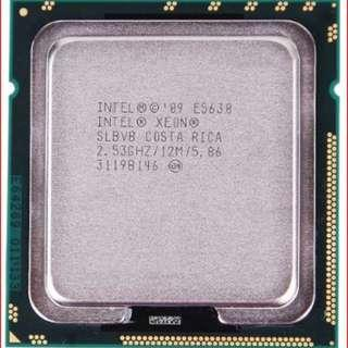 Intel Xeon Processor Sockets FCLGA1366