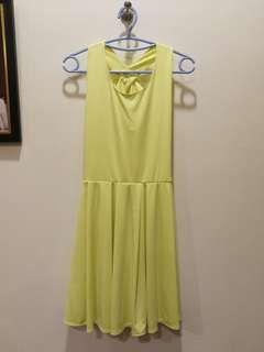 #SnapEndGame Yellow Dress with Ribbon