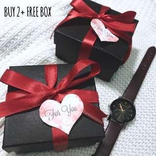JAM couple murah FREE BOX