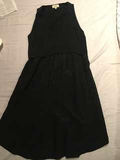 Wilfred V-neck dress size 0 (XS)