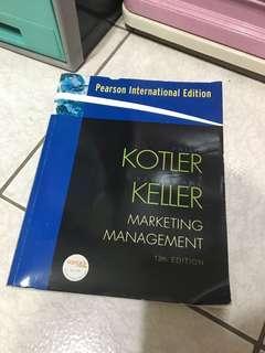 🚚 Kotler Keller marketing management 13e 行銷管理