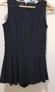 Cavalier Black Dress