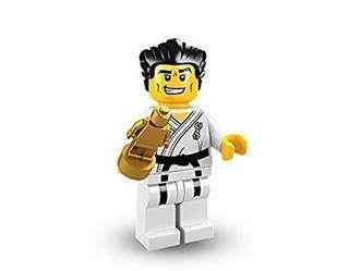 Lego Minifigure Series 2 Karate Master 8684