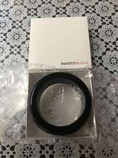 Swatch 黑色手鐲 black bracelet 100% new