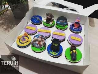 Mobile legend cupcake.