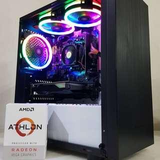 BUDGET CUSTOM GAMING PC GTX1050TI 4GB